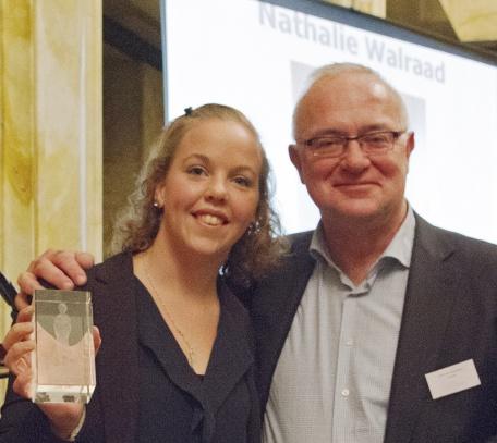 Foto Jos Versteegen Winnaar Jongerenaward Nathalie Walraad